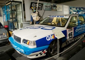 Volvo in the race!